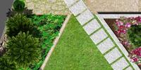 Ландшафтен проект, частен имот - гр. Елин Пелин
