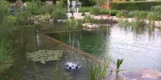 Еко/естествен/ басейн. Езеро за плуване